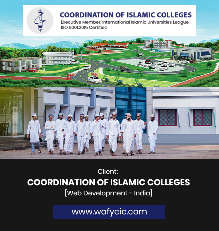 COORDINATION OF ISLAMIC COLLEGES